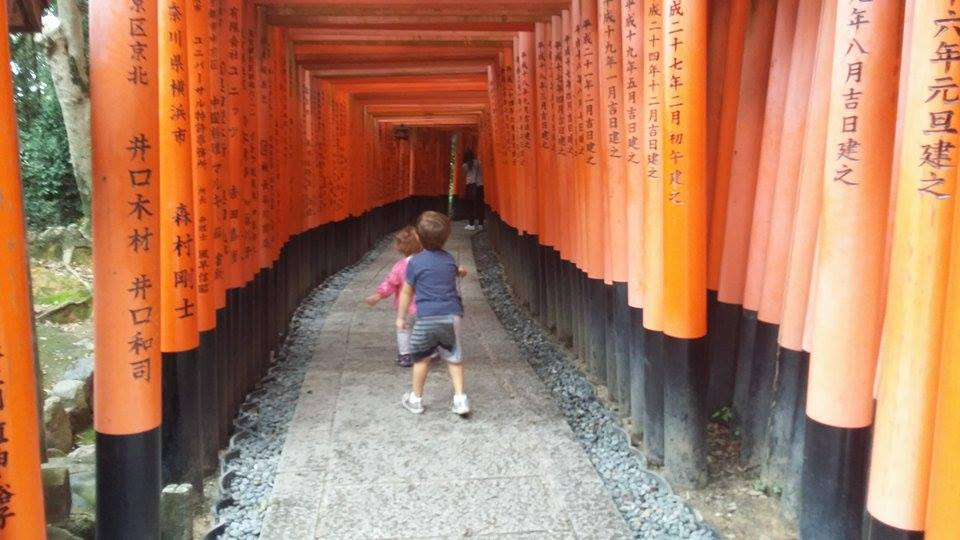 Giappone con bambini