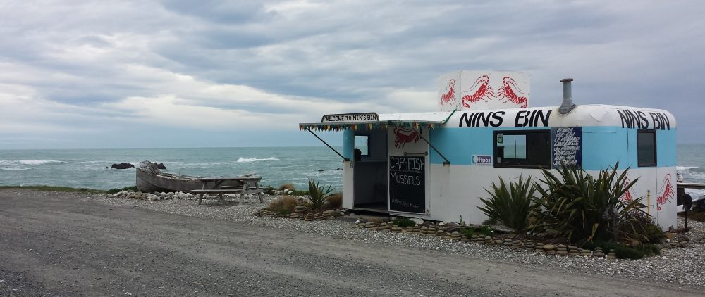 Il Nins Bin, Kaikoura (Nuova Zelanda)